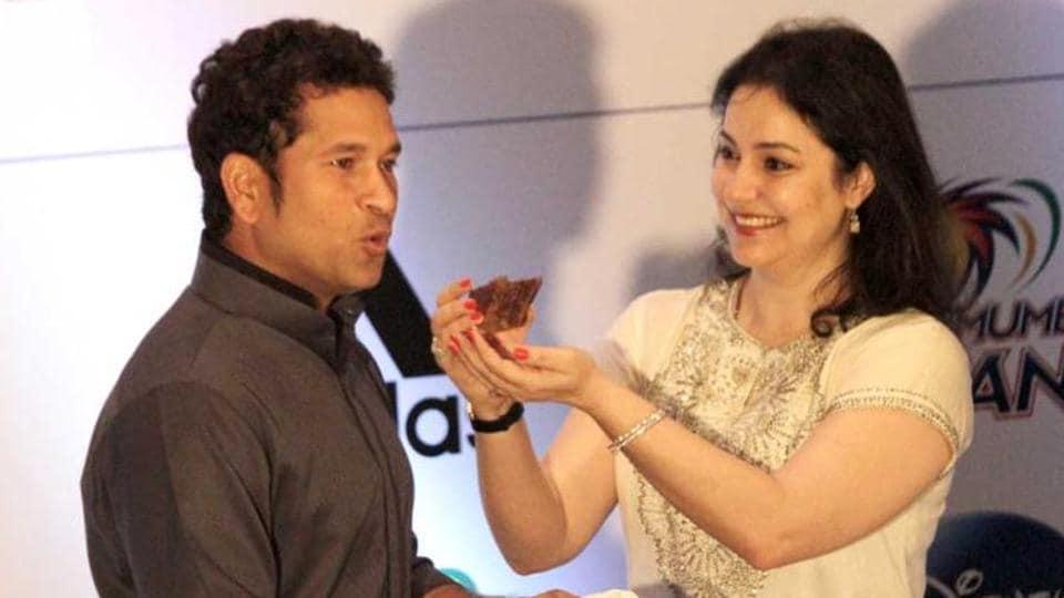 Sachin Tendulkar says wife Anjali has been an integral part of his cricket career.