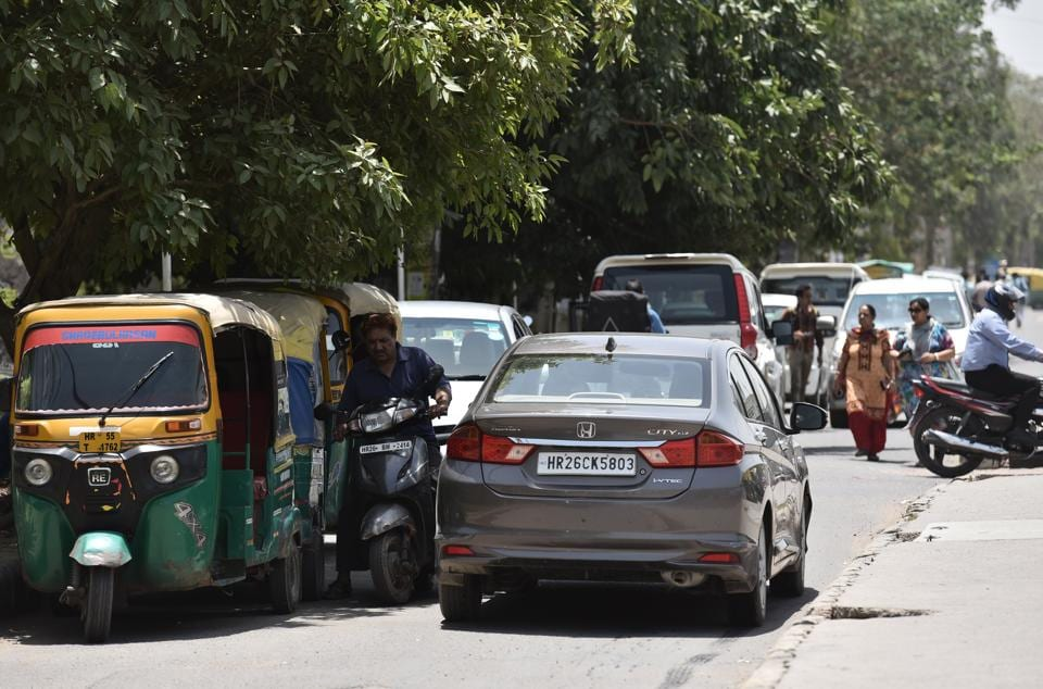 Traffic congestion,Irked residents,Sohna ROad