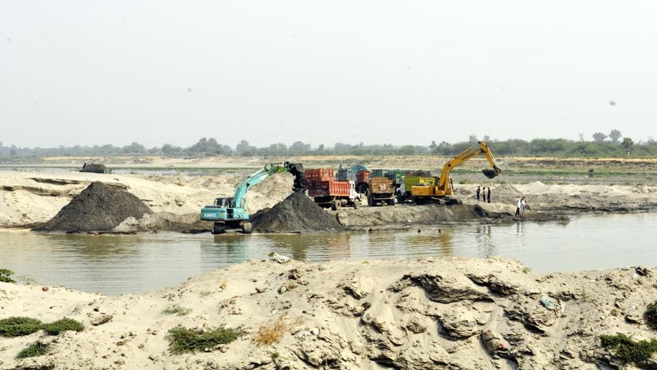 Authorities have been trying to stop illegal mining since the NGT's 2015 ban.