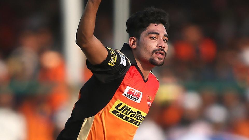 IPL 2017,Mohammed Siraj,Sunrisers Hyderabad