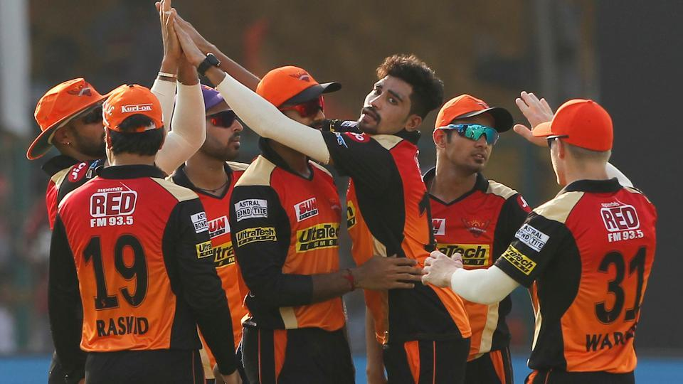 IPL 2017,Sunrisers Hyderabad,Kolkata Knight Riders