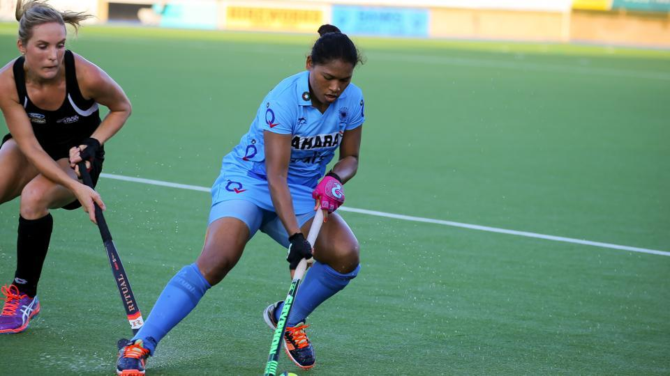 Indian women's hockey team fought hard but lost 2-3 to New Zealand on Wednesday.