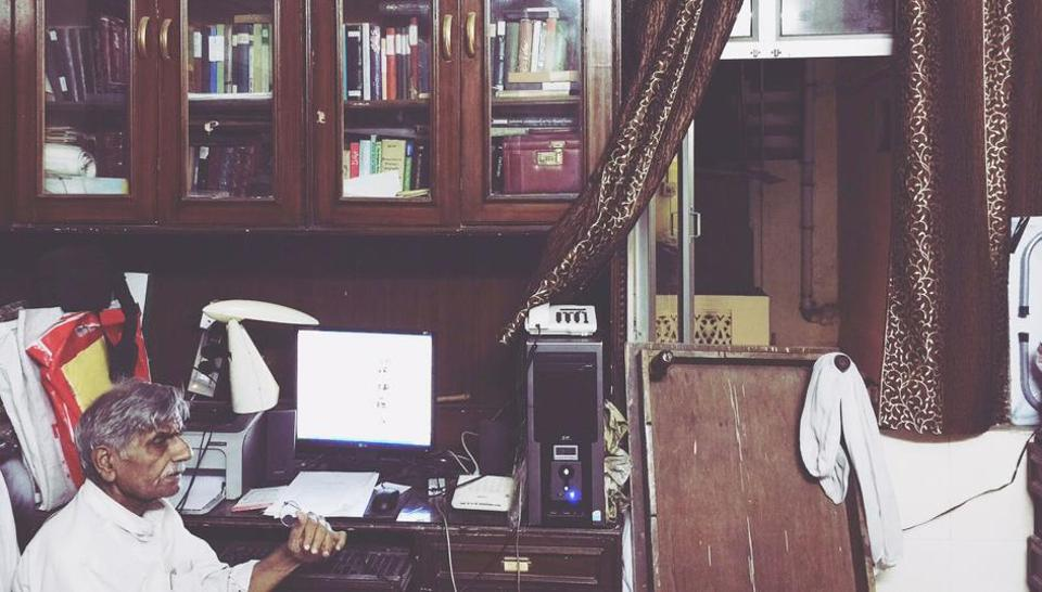 Abdul Sattar, who is in his seventies, lives in Old Delhi's Pahari Imli in house full of books and curiosities.