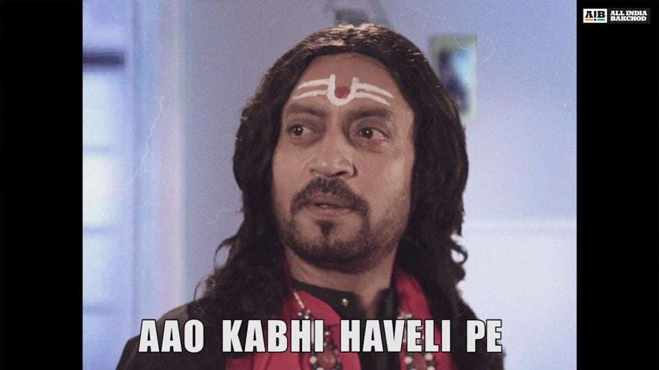 Watch Irrfan Khan get meme-fied as he takes on the most popular memes on the Internet.