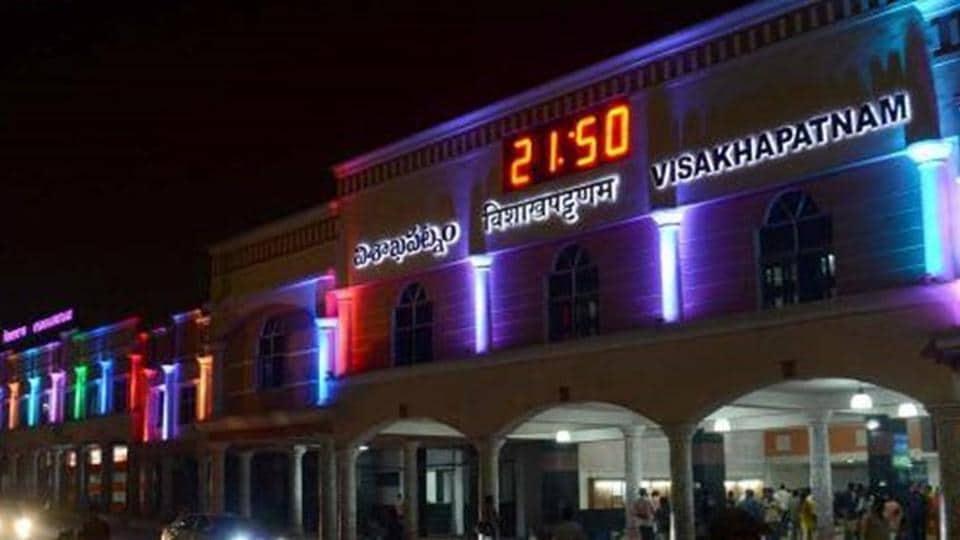 Visakhapatnam,Darbhanga,Railway stations
