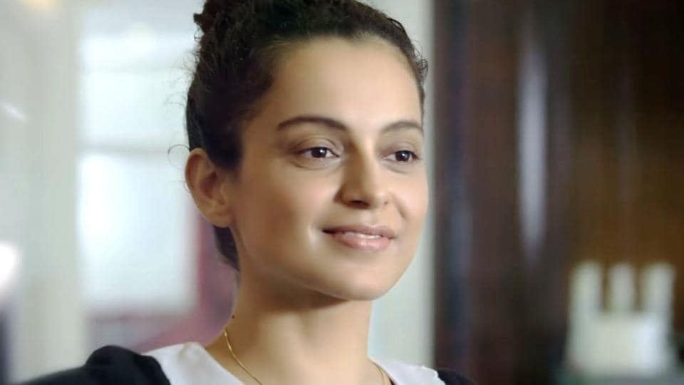 Kangana said she wrote the film from just a one-line screenplay.