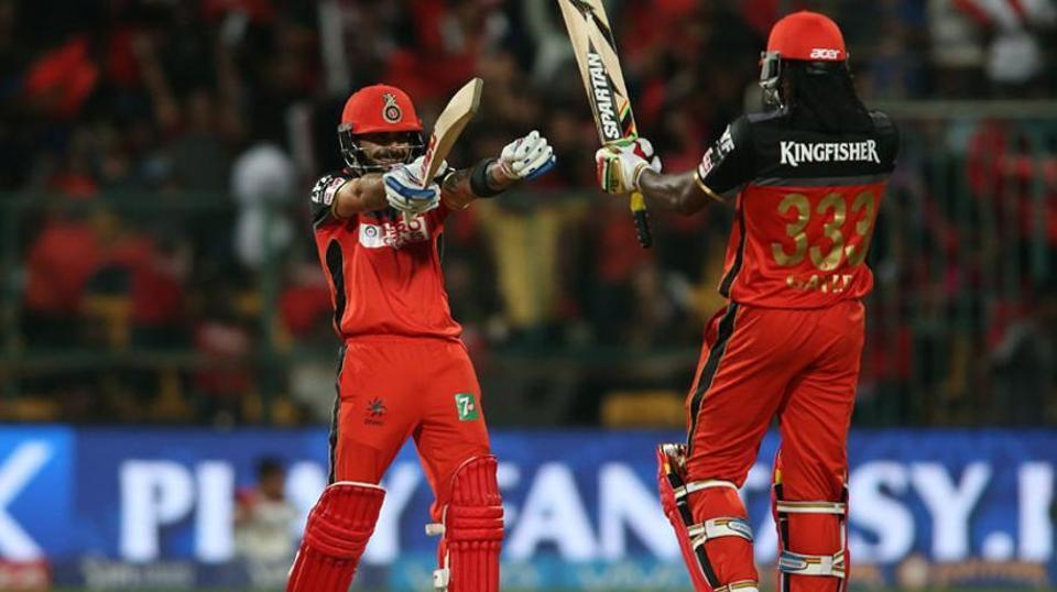 Royal Challengers Bangalore's Virat Kohli-Chris Gayle is the first pair to register 10 century stands in T20s.