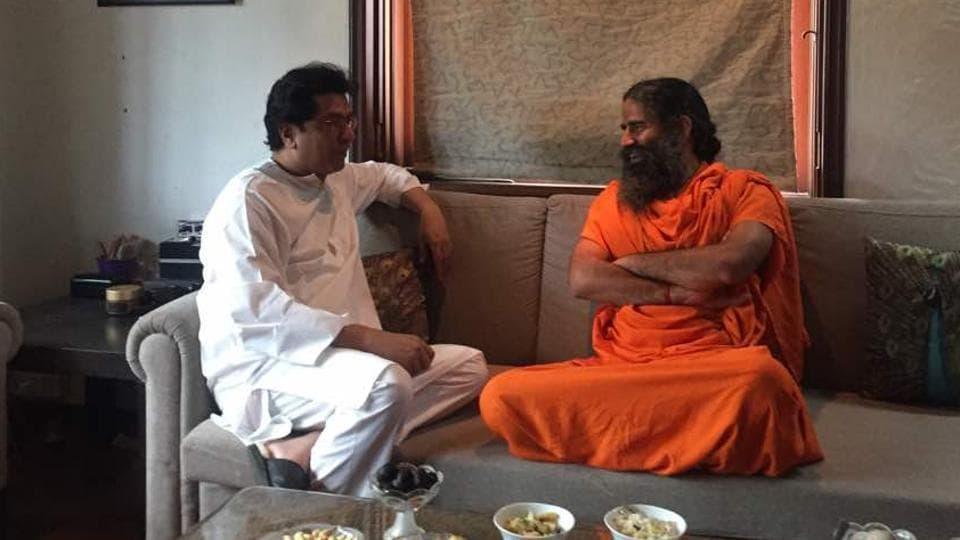 Yoga,Ramdev,Maharashtra Navnirman Sena