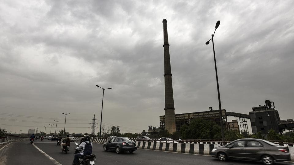 Weather turned extremely pleasant after light rains in New Delhi on Wednesday.