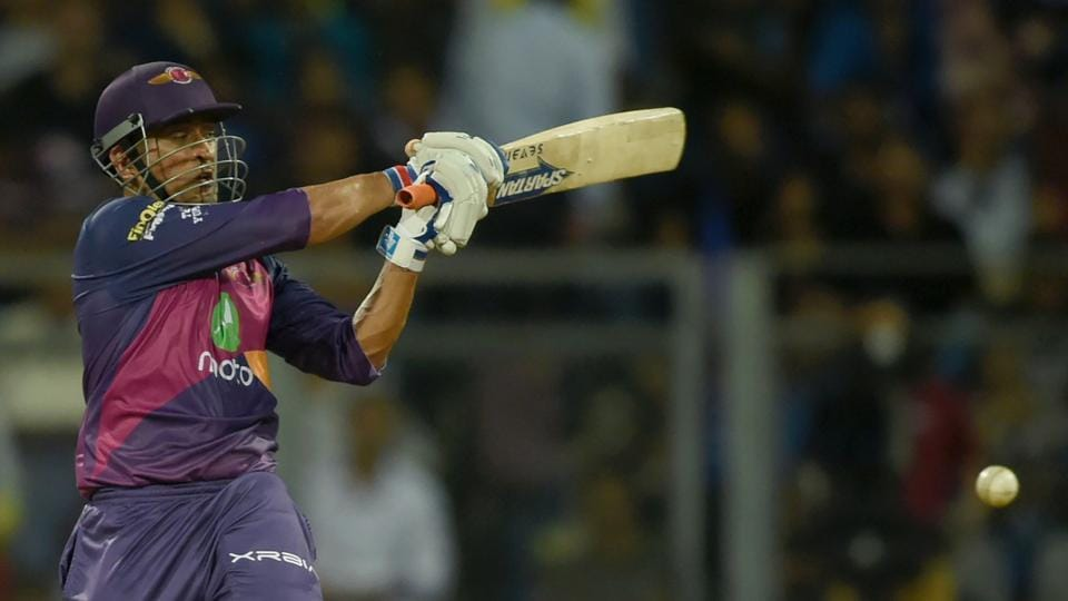 Rising Pune Supergiant (RPS)has enjoyed some vintage knocks from MSDhoni this Indian Premier League (IPL) season, including the unbeaten 26-ball 40 against Mumbai Indians in the 1st qualifier on Tuesday, which earned the team a place in the final.