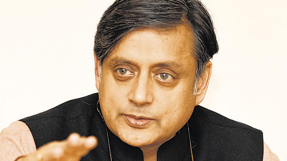 Member of Parliament Shashi Tharoor says the BJP behaves like the Opposition even while in power.