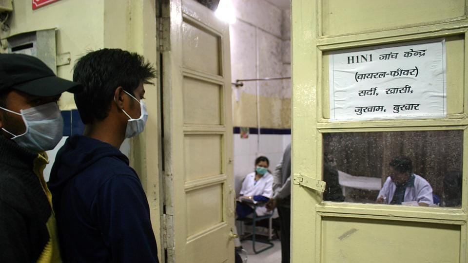 Five patients who have tested positive for H1N1 are being treated at Sir Ganga Ram.