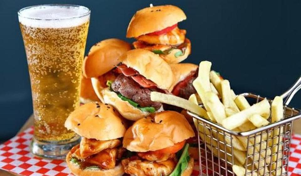 Food And Drinks High In Fat And Sugar