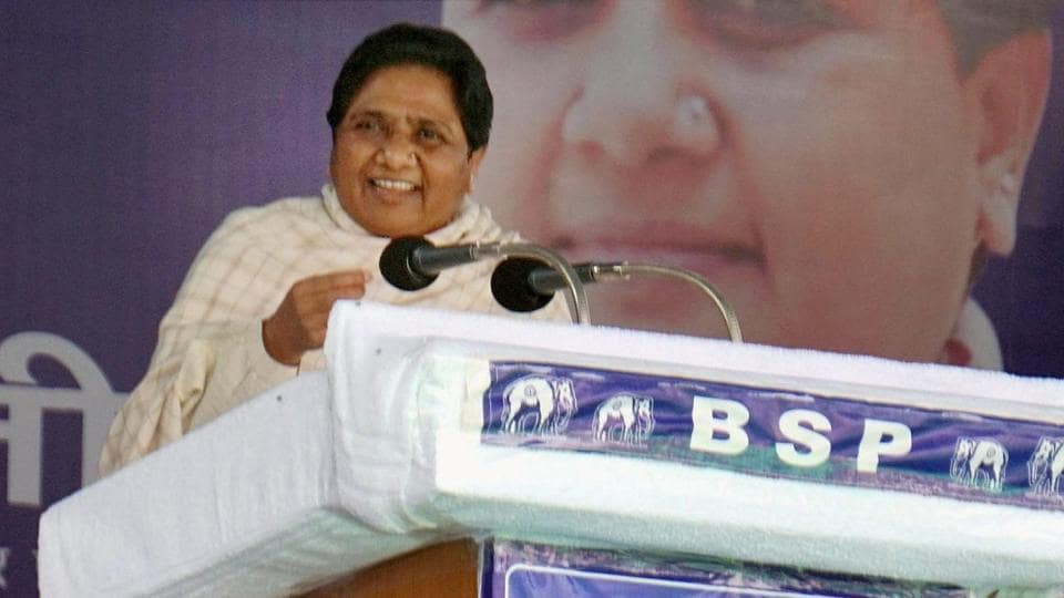 """BSPsupremo Mayawati said she was willing to be part of an anti-BJP front """"to keep democracy alive""""."""