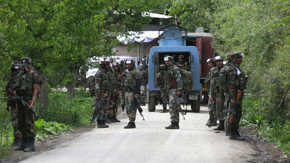 Search Operation Underway In South Kashmir