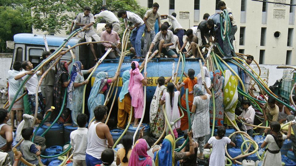Water crisis,Delhi,Manish Sisodia