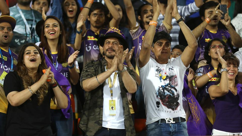 Shah Rukh Khan, co-owner of Kolkata Knight Riders, recently  celebrated the Indian Premier League (IPL) franchise's 10th anniversary.