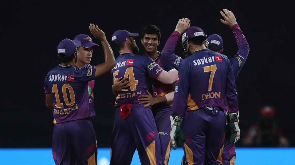 Washington Sundar's 3/16 helped Rising Pune Supergiant beat Mumbai Indians for the third time in IPL 2017 as they reached the final of the tournament for the first time. (BCCI)