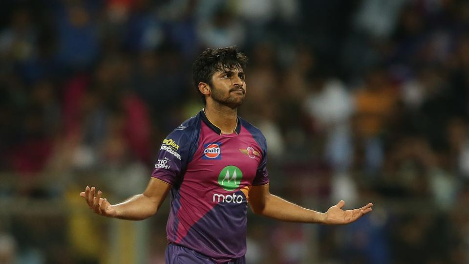 Shardul Thakur joined the fun as he picked up 3/37 to give RPS a 20-run victory. (BCCI)