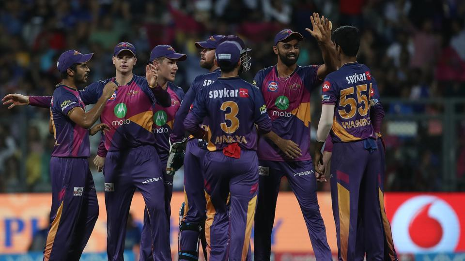 RPS secured their third win against MI in IPL 2017 and it made them the first finalists of IPL 2017. (BCCI)