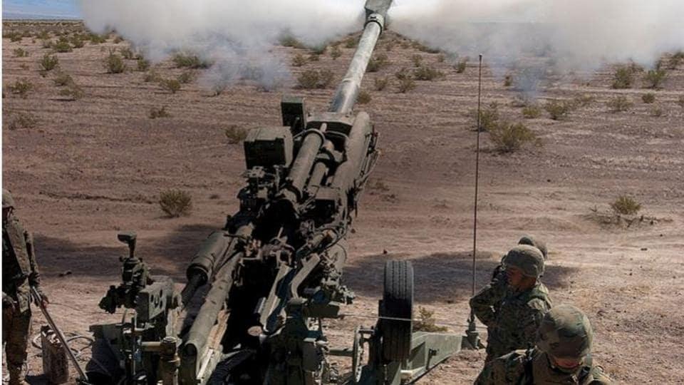 M777s,Howitzer,India