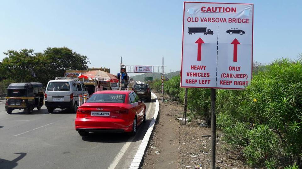 According to NHAI figures, around 50,000 vehicles use the bridge built over the Versova creek daily.