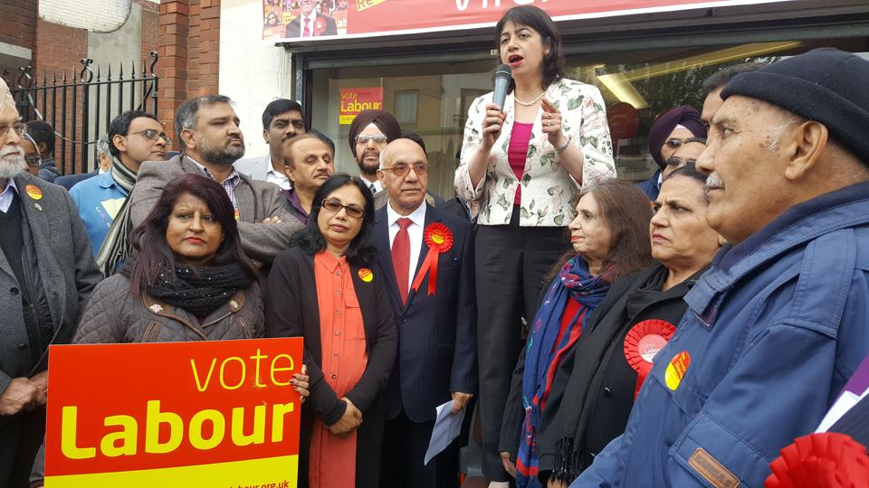 Labour candidate from Feltham and Heston, Seema Malhotra.