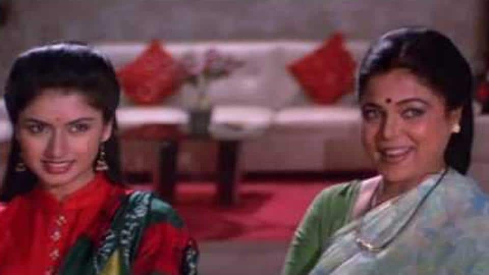 Actor Bhagyashree says actor Reema Lagoo reminded her of her mother.