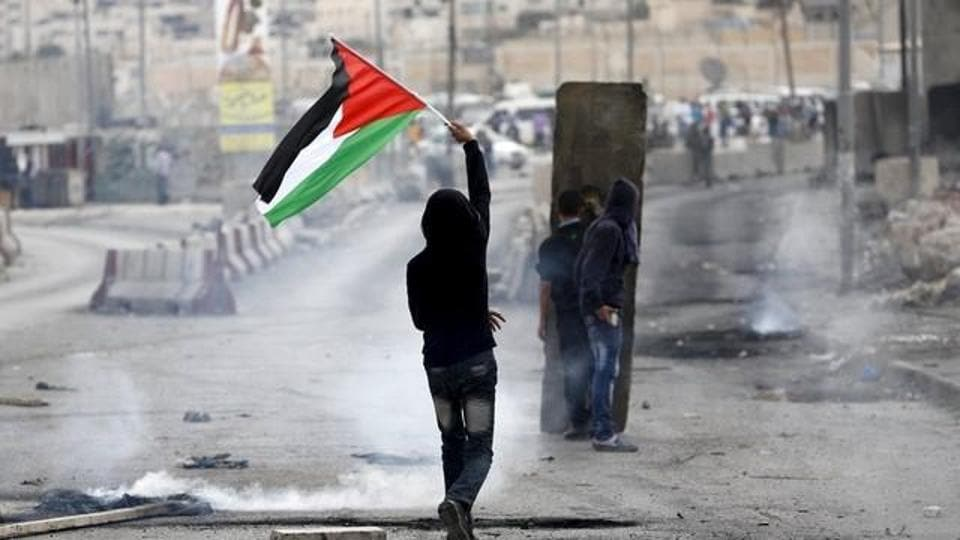 The Palestinian killed was identified by the health ministry as Muataz Bani Shemsay, 23, from a village near Nablus. He was shot in the head.