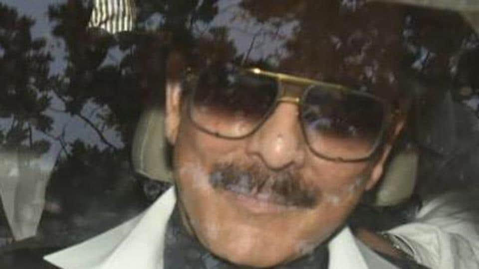 Subrata Roy outside the court in Mumbai last month.