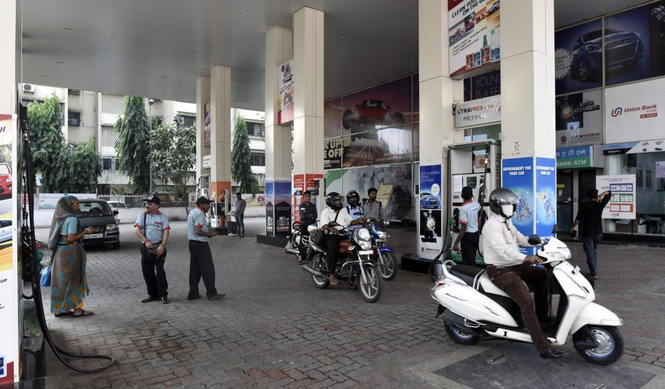The cash-strapped Maharashtra government has levied Rs2 as additional surcharge for a litre of petrol within just four weeks of its last hike last month.