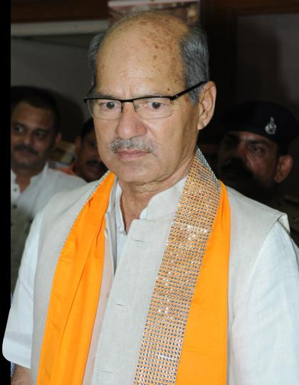 File photo of Union environment minister Anil Madhav Dave who died Wednesday night.