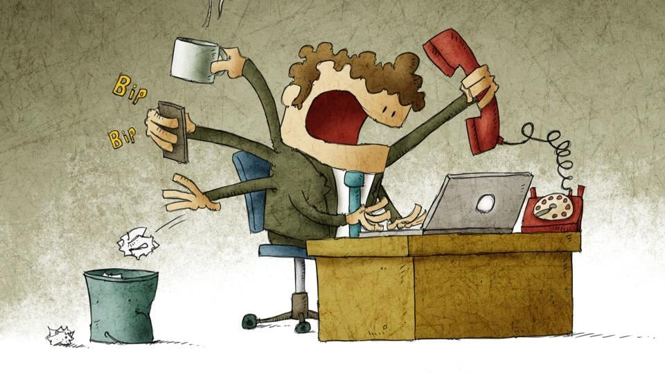 Accounts of a Workaholic narrates tales from the workplace
