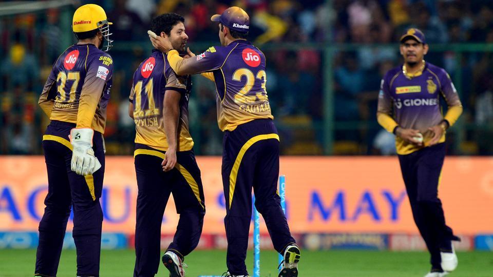 IPL 2017,Kolkata Knight Riders,Sunrisers Hyderabad