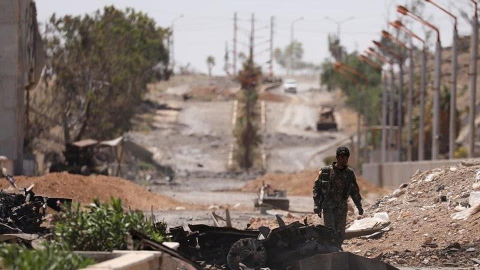 Syria,Hama,Islamic State