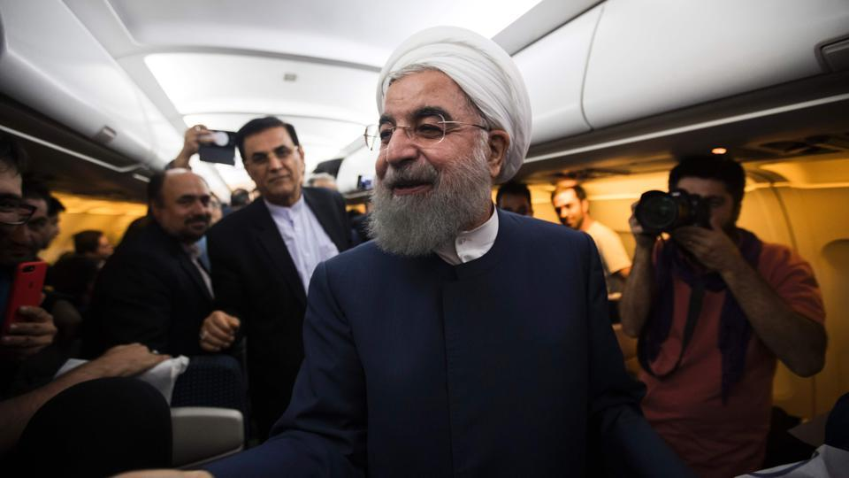 Rouhani had made the 2015 nuclear deal the centrepiece of his efforts to end Iran's isolation and rebuild its economy with foreign investment.