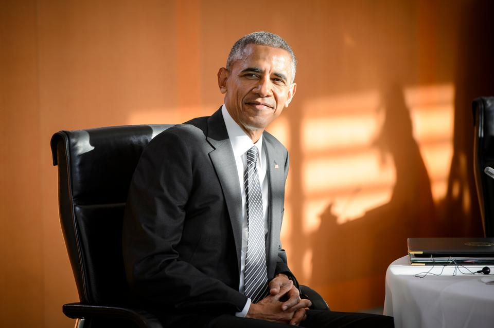 Blast from the past:Former US president Barack Obama in Berlin, Germany on November 18, 2016. India's National Security Annual Review 2015-16 looks at a world that isn't chronologically distant but still utterly different.