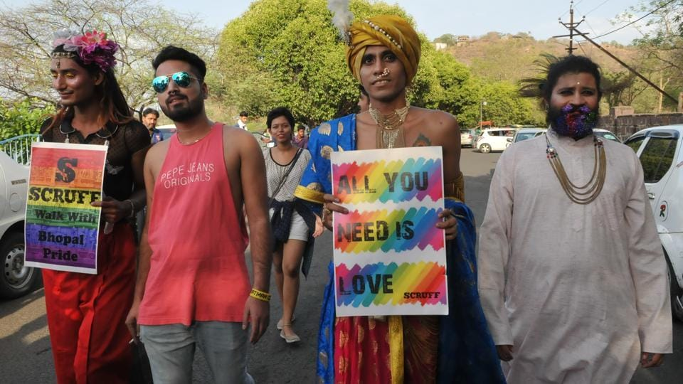 On May 17,World Health Organization removed homosexuality from its list of mental disorders. (Mujeeb Faruqui/HT Photo)