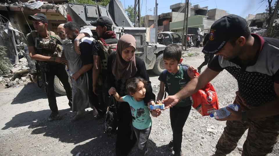 Iraqi forces have driven the militants from most of Mosul, but are still battling them in densely populated western districts.