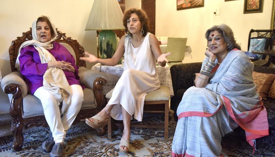 (From left) Mahabanoo Mody Kotwal, Avantika Akerkar and Dolly Thakore