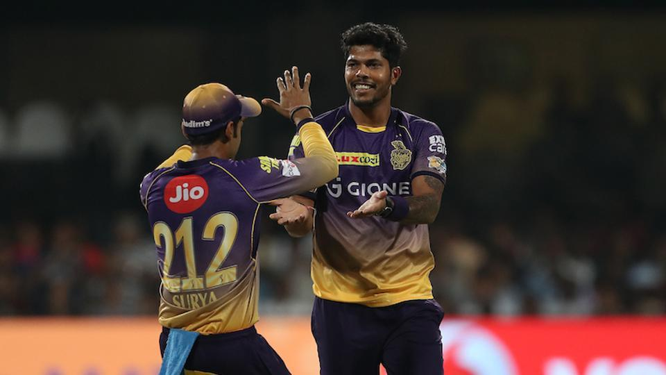 Umesh Yadav picked two wickets to peg back SRH. (BCCI)