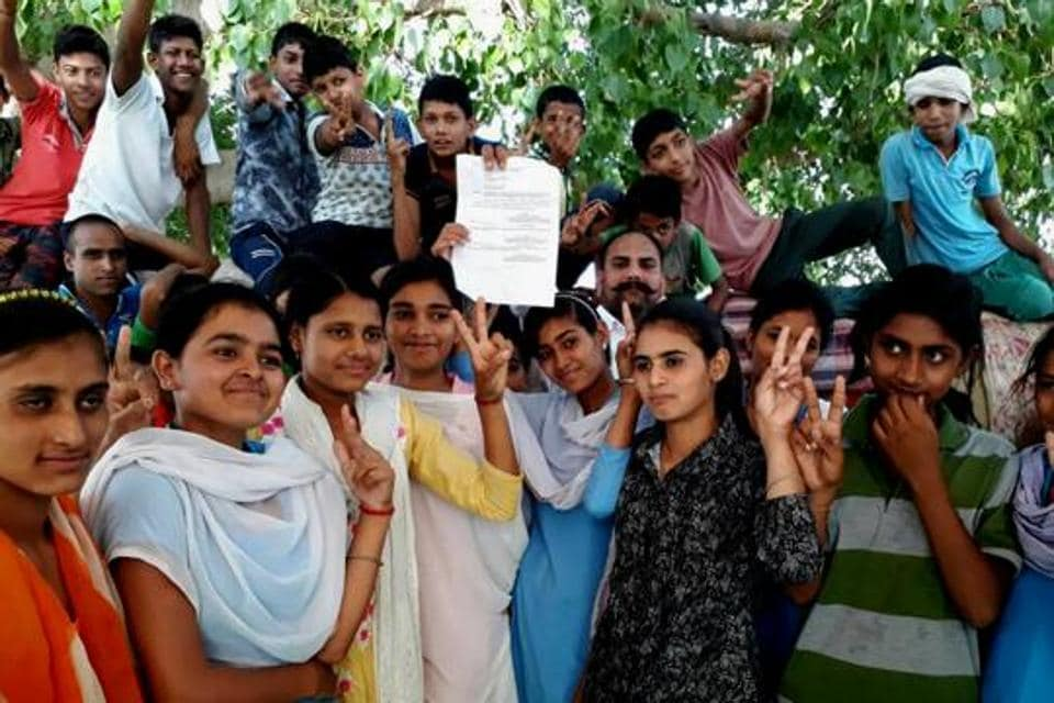 The Rewari girls erupted in joy after their 8-day hunger strike came to fruition.
