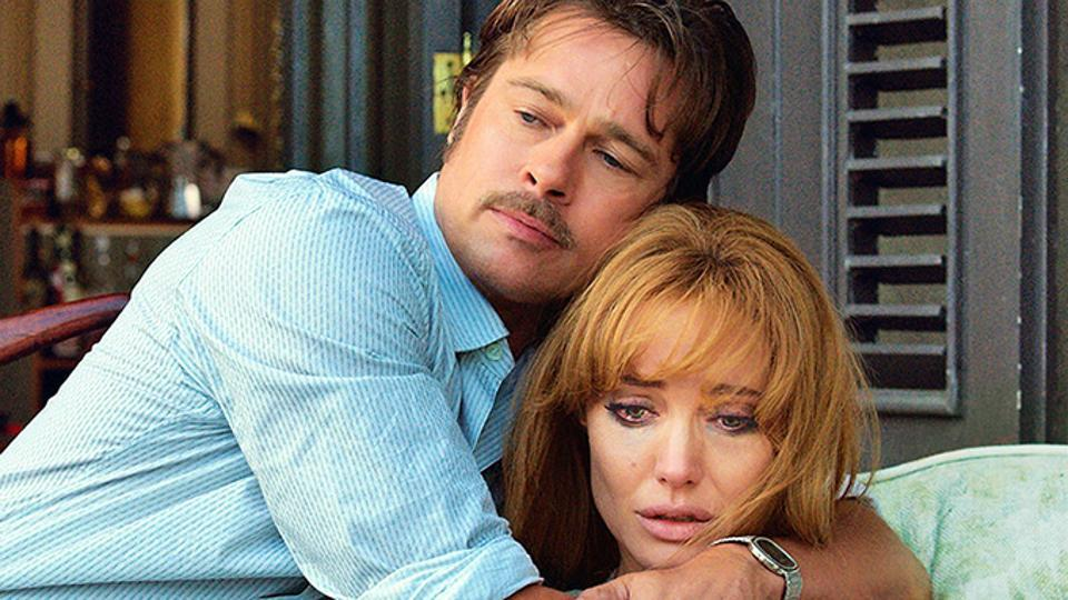 Angelina Jolie, in a still from By the Sea, a film she directed and co-starred in with Brad Pitt.