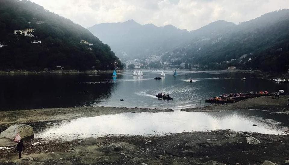 The Nainital Lake has touched an abysmal level of 14 feet below normal this season, a clear indication of impending ecological disaster.