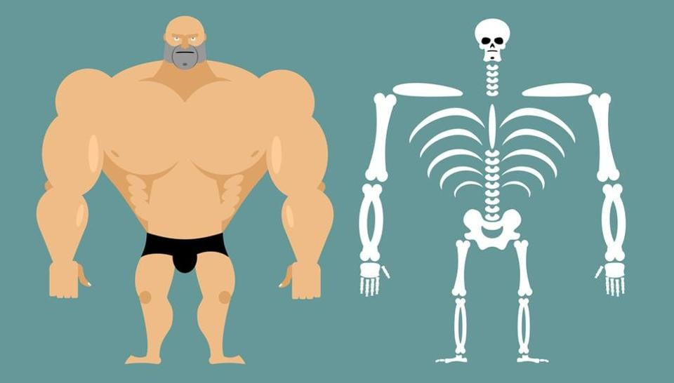 The research shows it is possible to use exercise to reverse some of the effects on bones.