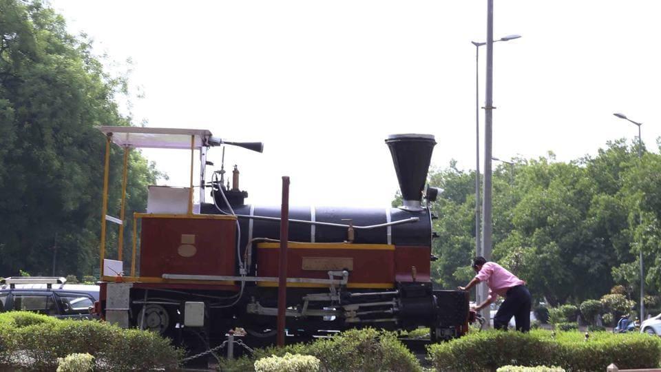 Delhi walle,Steam engine,Copernicus Marg