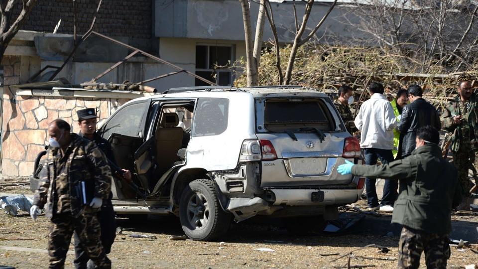 Afghanistan,Roadside bomb blast,Afghan Policeman