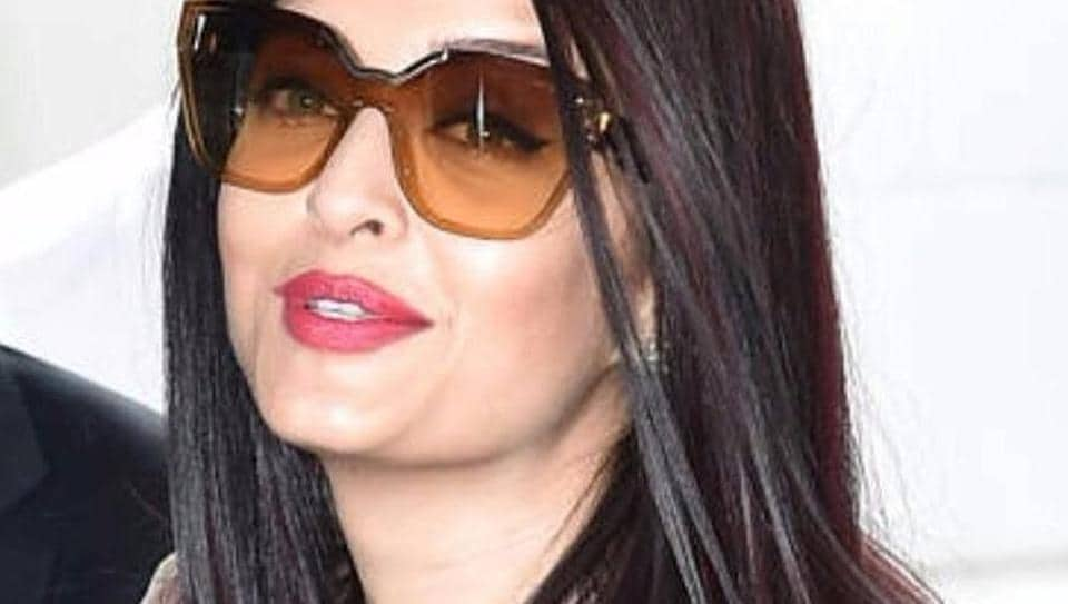 Aishwarya seems really happy to be in Cannes.