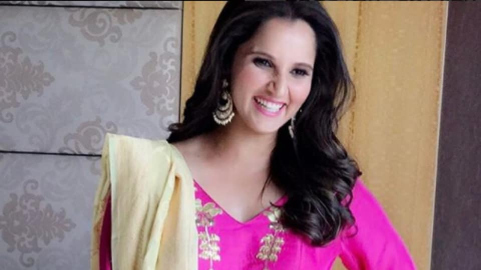 Tennis player Sania Mirza had to take down a tweet after users mocked her.