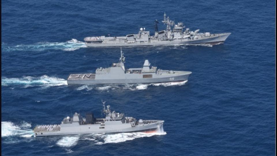 South China Sea,India-Singapore naval exercise,Simbex-17 exercise